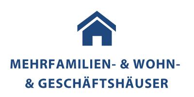 Mehrfamilien- & Wohn- & Geschäftshäuser Symbolbild