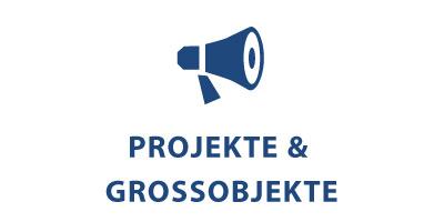 Projekte & Grossobjekte Symbolbild